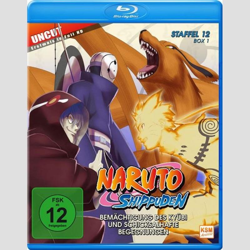 Naruto Shippuden Staffel 12 Blu Ray Box 1 Uncut