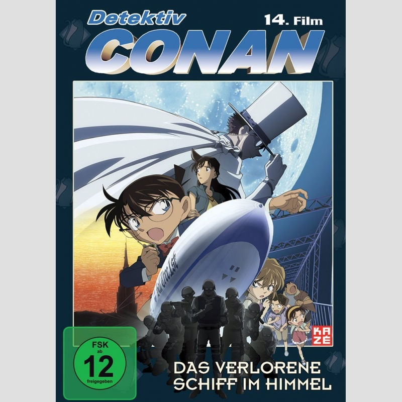 Detektiv Conan DVD Film 14