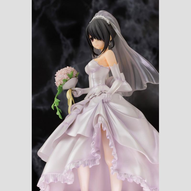 Date A Live Statue Kurumi Tokisaki Wedding Ver