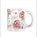 Racing Miku x Super Sonico Tasse B (Japan Import)