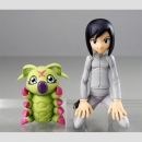 Digimon Adventure G.E.M. Statue Ken & Wormmon
