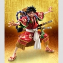 One Piece P.O.P. (Portrait of Pirates) Excellent Model Monkey D. Luffy Kabuki Edition