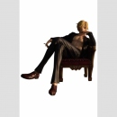 One Piece P.O.P. (Portrait of Pirates) Excellent Model SOC (Sit on a Chair) Sanji