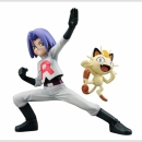 Pokemon G.E.M. Statue -James & Meowth-