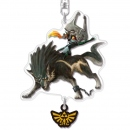 The Legend of Zelda Twilight Princess HD Acryl Anhänger Midna & Wolf Link