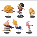 Dragon Ball Z WCF (Word Collectable Figure) The Historical Characters vol. 3 (6 Figuren, Set komplett)