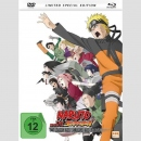 Naruto Shippuden The Movie 3 Die Erben des Willens des Feuers Blu Ray/DVD **Limited Special Edition**