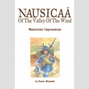 Nausicaä of the Valley of the Wind: Watercolor...