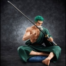 One Piece P.O.P. (Portrait of Pirates) Excellent Model SOC (Sit on a Chair) Lorenor Zoro
