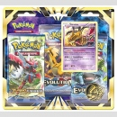 Pokemon XY Blister Booster 3er Pack Giratina ++Deutsche...