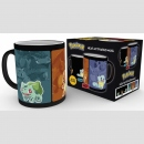 Pokemon Tasse mit Thermoeffekt Evolve
