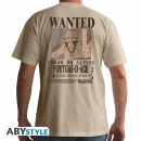 One Piece Wanted Portgas D. Ace T-Shirt  Grösse L