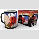 One Punch Man Tasse mit Thermoeffekt