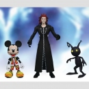Kingdom Hearts II Action Figuren (Kingdom Hearts Select) Series 1: Mickey Mouse & Axel & Shadow