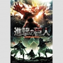 Attack on Titan Season 2 Key Art Poster