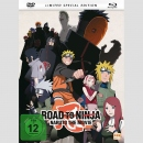 Road to Ninja: Naruto The Movie Blu Ray/DVD **Limited Edition**