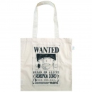 Eco Cotton Bag One Piece Wanted Poster Zoro