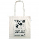 Eco Cotton Bag One Piece -Wanted Poster Monkey D. Luffy-