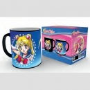 Sailor Moon Tasse mit Thermoeffekt