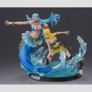 Fairy Tail: 1/8 Lucy Heartfilia & Aquarius High Quality Figuren