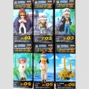 One Piece WCF (World Collectable Figure) History of Law Figuren-Set komplett