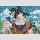 Dragon Ball Z Mosaic Art Puzzle