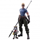 Play Arts Kai Final Fantasy VII Advent Children -Cid...