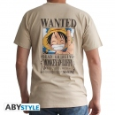One Piece Wanted Monkey D. Luffy T-Shirt Grösse XL