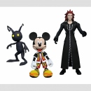 Diamond Select Toys Kingdom Hearts Collectors Action Figures Series 1: Mickey & Axel & Shadow