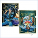One Piece 20th Anniversary Ichiban Kuji Sichtmappen 2er Set -Usopp & Tony Tony Chopper-