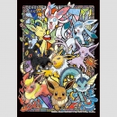 Pokemon Eevee Evolutions Puzzle
