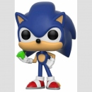 Funko POP! Games Sonic the Hedgehog -Sonic with Emerald-