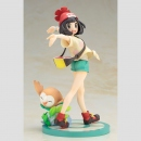 Pokemon ARTFX J Statue 1/8 Moon with Rowlet PVC