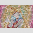 Sailor Moon Mosaik Art Puzzle