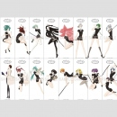 Land of the Lustrous Poster Collection