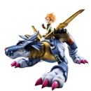 Digimon Adventure G.E.M. Statue Metal Garurumon &...