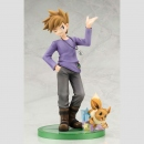 Pokemon ARTFX J Statue 1/8 Blue with Eevee