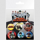 My Hero Academia Ansteck-Buttons 6er-Pack Mix