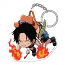 One Piece Acryl Pinched Anhänger Portgas D. Ace