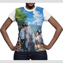 Your Name BegegnungT-Shirt Girlie Grösse S