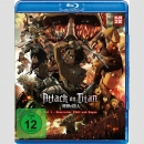 Attack on Titan - Anime Movie Blu Ray Teil 1: Feuerroter...