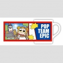 Pop Team Epic Tasse Motiv A (Japan Import)