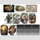 Octopath Traveler Poster Set