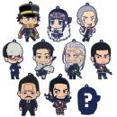 Golden Kamuy Rubber Keychain Collection