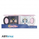 Sailor Moon Mini Espresso-Tassen-Set Artemis & Luna