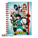 My Hero Academia Notizbuch