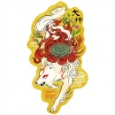 Okami Gold Folding Screen Sticker