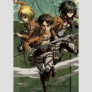 Attack on Titan B2 Wandrolle