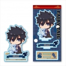 Fairy Tail Gyugyutto Acryl Figur Gray