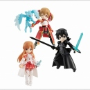 Sword Art Online Desktop Army 3er Set -Asuna, Kirito &...